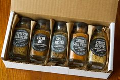 38 Father's Day Gifts You Basically Can't Go Wrong With Burger Seasoning, Spice Set, Stuffed Sweet Peppers, Dinner Menu, Spice Things Up, Fathers Day Gifts, Grilling, Meals, Food Dinners