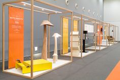 "Exibition scenography ""Design Réservoir"" by Twodesigners, via Behance #designreservoir #scenography"
