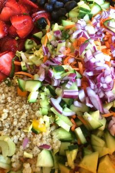 Strawberry Quinoa Salad with Fresh Basil