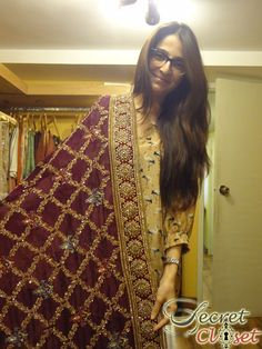 Until recently it might have been appropriate to call Tena Durrani one of bridal fashion's best kept secrets but now, the secret's out! With the support of her best friend and accomplic… Bridal Dupatta, Pakistani Bridal, Pakistani Outfits, Indian Outfits, Bridal Fashion, Couture Fashion, Eastern Dresses, Zardosi Embroidery, Beaded Embroidery