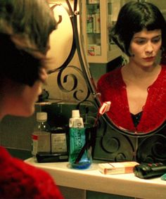 Audrey Tautou as Amelie Poulain. One person can change your life forever.