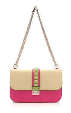 Multi Color Studded Purse by Valentino