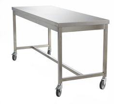 Stainless Steel Table with Castors - 304 Stainless Steel   #pharmaceutical #pharma #cleanrooms #cleanroom #laboratory #medical #healthcare #infectioncontrol #clinical #sterile #contaminationcontrol #microelectronics #microbiology #foodindustry #ad #OptimumProtection @cleanroomsupp