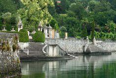 Inside Lake Como's Villa Sola Cabiati   Vogue Lake Como Hotels, Lake Como Villas, Italian Garden, Italian Villa, Lac Como, Comer See, Lake Villa, Century Hotel, Lake Como Italy