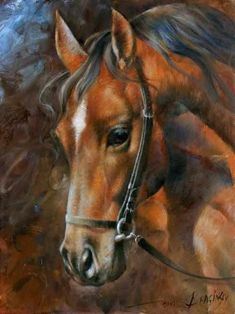 Head Horse Poster By Arthur Braginsky.