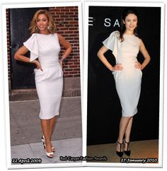 Who Wore Elie Saab Better? Beyonce Knowles or Olga Kurylenko