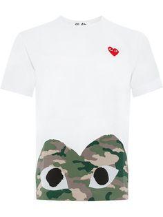 1271461db5fb Comme Des Garçons Play T-shirt à Logo Imprimé - Farfetch