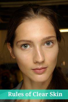 5 Rules Of Clear Skin | skin care tips | beautiful skin | beauty tips