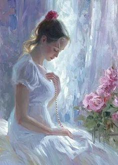 Woman Painting, Figure Painting, Painting & Drawing, Vladimir Volegov, Fine Art, Portrait Art, Beautiful Paintings, Figurative Art, Oeuvre D'art