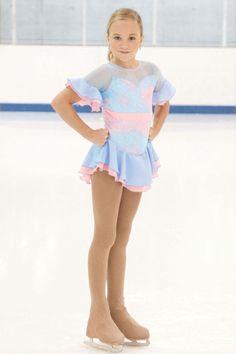 Chloe Noel Girls Size 6/8 Purple Velvet Cami Figure Skating Dress ...