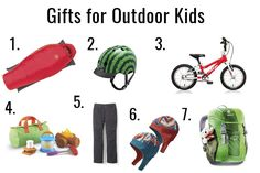 I want you to get your kid outside more! Here's some great gifts to help make that happen. Plus a giveaway too!