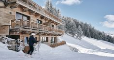 The luxurious hideaway with first-class service and ski-in, ski-out in the Kitzbühel ski area, 50 m from the start of the Hahnenkamm race. First Class, Lodges, Skiing, Outdoor, Ski, Outdoors, Cabins, Outdoor Games, Outdoor Living