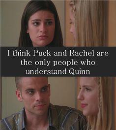 Puck and Rachel Understanding Quinn