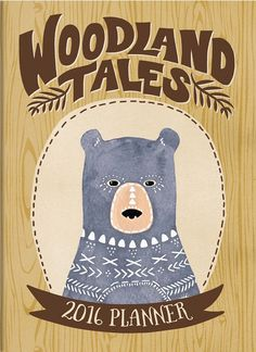 2016 Woodland Tales Take Me With You Planner