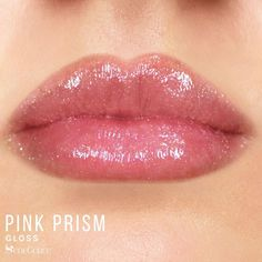 Limited Edition Pink Prism gloss by LipSense is part of the Love Story Collection.  Described as a specialty gloss with a light pink tint and multicolor glitter for a stunning, sparkling finish.  Perfect to top ANY lipcolor.  Sold individually and as a collection.  #pinkprism #pinkprismgloss #lipsense #lovestorycollection