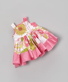 Take a look at this Pink Floral Doll Outfit by Petite & Posh on #zulily today!