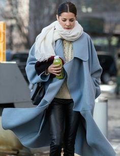 polar vortex chic. NYC.