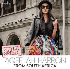This fashion-forward globetrotter loves adventure and is inspired by those she meets on her travels. Muslim Women, Cosmopolitan, South Africa, Fashion Forward, Beauty Hacks, Adventure, Inspired, Female, Inspiration