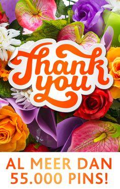 """Bedankt voor het delen van jullie inspiratie op ons gastenbord """"Jouw pins voor Tuinen.nl"""""""