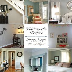 Gray, Grey or Greige - Finding the perfect gray