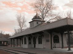 Old Train Station Napanoch NY by Don Odom
