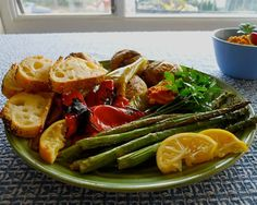 i love grillng veggies.  This seems great for a dinner.