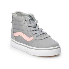 2467bb61ef Vans Ward Hi Zip Girls  Skate Shoes