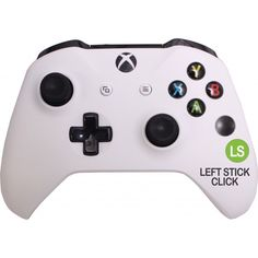Xbox One accessibility controller -   purchase either a right or left handed version. Essentially moves buttons so accessible for one handed use. Optional opposite thumbstick controller can be added anywhere. Courage Kenny Rehabilitation Institute