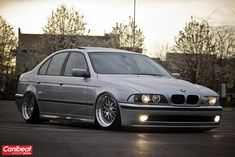 BMW 5 Series (E39) on CCW LM20s