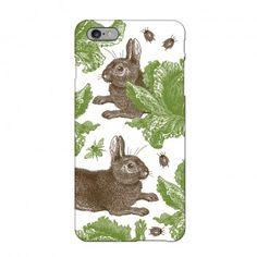 Rabbit & Cabbage iPhone 6 Case