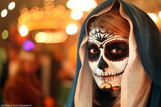 Image detail for -Channing Pierce as The Virgin Mary Day of the Dead style at Theatre ...