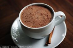 Recipe: Guatemalan Hot Cocoa (Central America) Show Annie.cinnamon and hot cocoa ; Guatemalan Desserts, Guatemalan Food, Guatamalan Recipes, Hot Cocoa Bar, Thinking Day, Latin Food, Spanish Food, Central America, North America