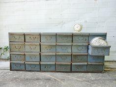 Industrial Metal Drawers