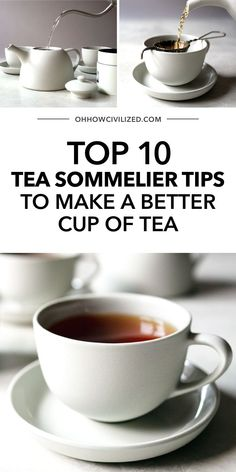 There's more to tea than just dipping a tea bag in a hot mug. It's a whole art in itself and there are proper ways to make one for tea times to be even more enjoyable. Follow my Tea Sommelier tips here - click to explore. Hot Tea Recipes, Drink Recipes, Making Iced Tea, Homemade Tea, Perfect Cup Of Tea, Tea Sandwiches, Brewing Tea, Best Tea, How To Make Tea