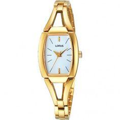 Lorus Ladies Gold Plated Bracelet Watch