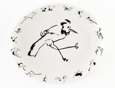 BILLY SULLIVAN Birds Platter for Perfect Earth Project, 2014