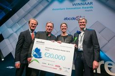 Winner Category Health Accenture Innovation Awards 2014: Vertual Med School with prize winning serious game abcdeSIM