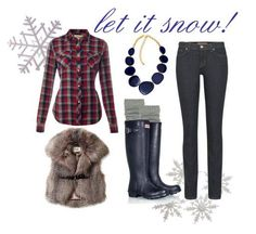 let it snow! my outfit for the first snow day of the year!