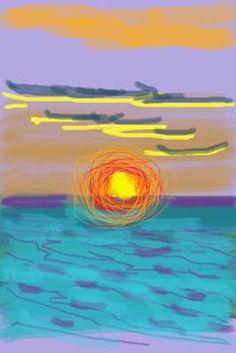 Hockney iPad art