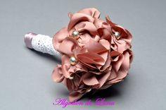 ramito de flores de tela en color maquillaje 606619349 algodondeluna@gmail