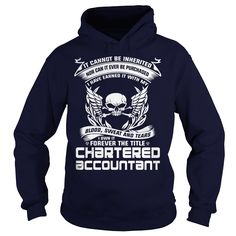 CHARTERED ACCOUNTANT I OWN IT FOREVER THE TITLE T-Shirts, Hoodies. CHECK PRICE ==► https://www.sunfrog.com/LifeStyle/CHARTERED-ACCOUNTANT-BLOOD-Navy-Blue-Hoodie.html?41382