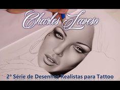 2ª Série de Desenhos Realistas para Tattoo - Charles Laveso