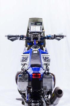 Photos: Cyril Despres & His Yamaha YZ450F Rally Race Bike