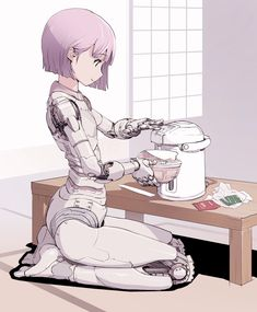 Safebooru is a anime and manga picture search engine, images are being updated hourly. Cyborg Girl, Female Cyborg, Cyborg Anime, Character Concept, Character Art, Humour Geek, Cyberpunk Kunst, Anime Motivational Posters, Arte Robot