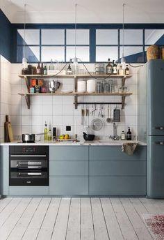 Stockholm 34 on Behance Adobe Photoshop, Lightroom, Interior Design Living Room, Living Room Decor, Bedroom Decor, Kitchen Living, Kitchen Decor, Interiores Design, Locker Storage