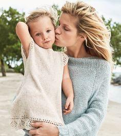 Ravelry: Hullmønsterkjole pattern by Anita Brathetland Crochet Bebe, Crochet For Kids, Knit Crochet, Dere, Baby Kind, Baby Knitting Patterns, My Design, Kids Fashion, Flower Girl Dresses