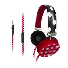 Minnie Mouse headphones #MinnieStyle