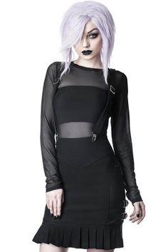 Women's Bottoms | Jeans, Leggings, Skirts & Shorts | Killstar Killstar Clothing, Stay Cold Apparel, Goth Skirt, Gothic Leggings, Cute Goth, Gorgeous Hair Color, Black Parade, Suspender Skirt, Black Milk Clothing