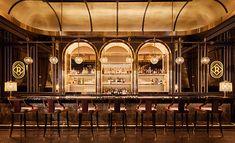 "Rosina Las Vegas - Photo: © Restaurant & Bar Design Award – The Rosina Bar in Las Vegas received the ""Best Overall - Cafe Restaurant, Restaurant Design, Architecture Restaurant, Bar A Vin, Café Bar, Art Deco Bar, Bar Design Awards, Palazzo Las Vegas, Las Vegas Restaurants"