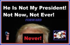 Watch all the teaGops freak out about people saying this now, while they have screeched this ad nauseum for the last eight years about President Obama. Whiner hypocrites!